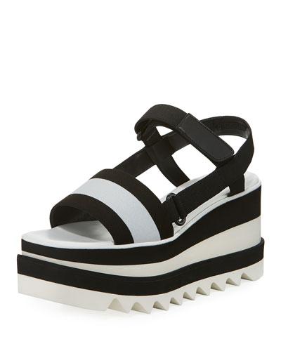 Sneakelyse Platform Sandal