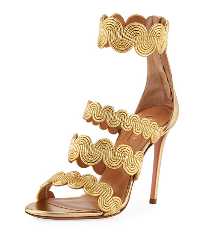 Jodhpur Metallic Swirl Sandal