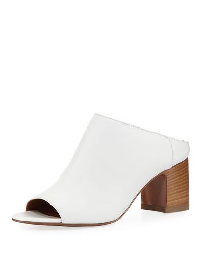 Ellen Leather Mule Sandal