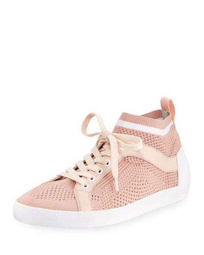 Nolita Knit Mesh Lace-Up Sneaker