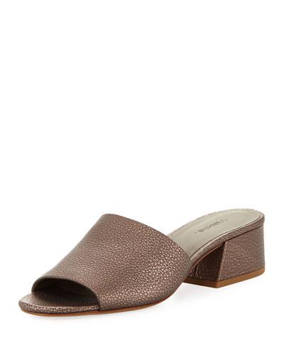 Karissa Leather Slide Sandal