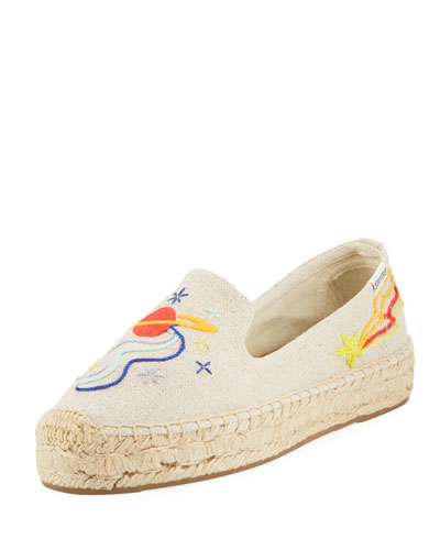 Outer Space Canvas Espadrille Loafer