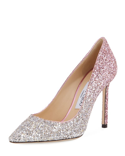 Romy Degrade Glitter 100mm Pump