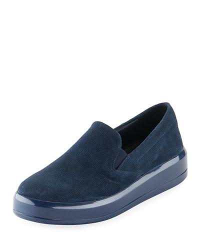 Calf Suede Skate Sneaker
