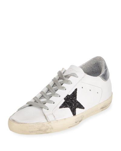 Glittered Star Low-Top Sneaker