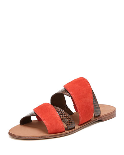 Blake Flat Double-Band Sandal