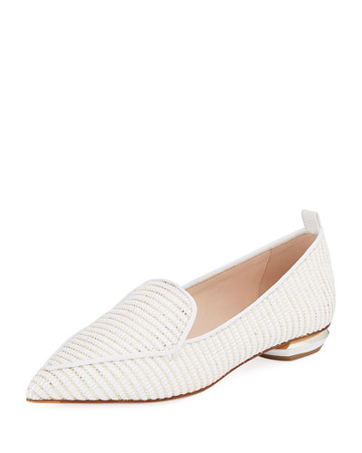 Beya Woven Flat Loafer