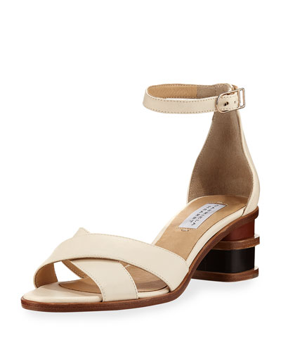 Warhol Leather d'Orsay Sandal
