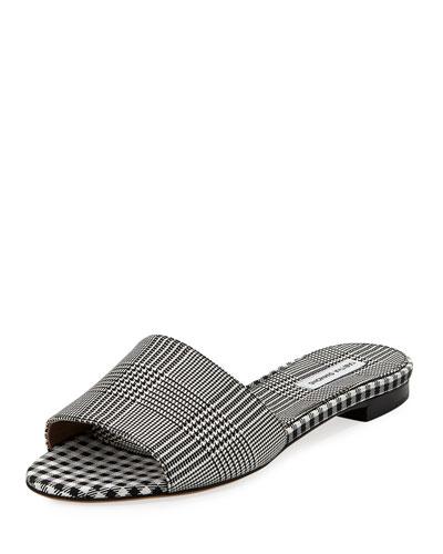 Sprinkles Frayed Slide Sandals