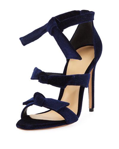 Lolita Glittered Bow Sandal