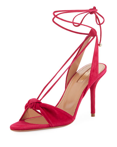 Virginie Knotted Self-Tie Sandal