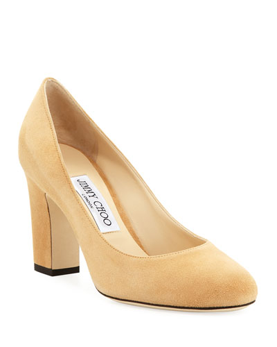 Billie 85mm Suede Pumps