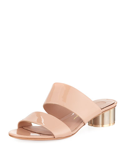 Belluno Patent Leather 30mm Sandals