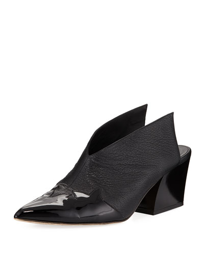 Floyd Winged Leather Mule