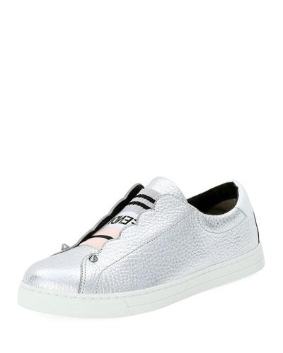 Rockoko Metallic Slip-On Sneaker