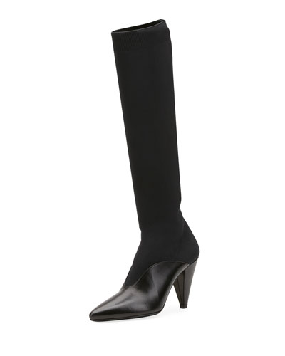 Knee-High Stretch Boot