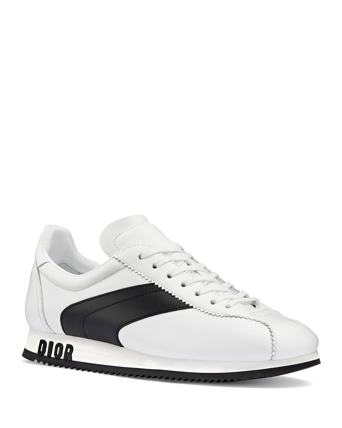 UN CALFSKIN LEATHER SNEAKERS