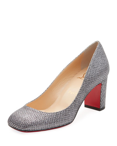 Cadrilla Glitter Red Sole Pumps