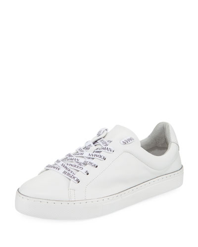 BG Laces Leather Sneakers