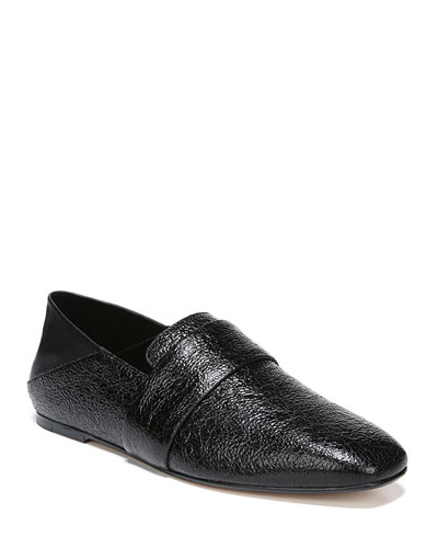 1e4cc7c5ad07 Harris Crackled Flat Loafers
