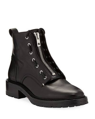 Cannon Leather Combat Boots