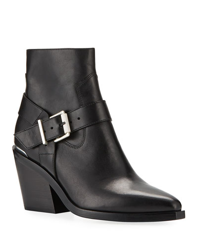 Ryder Leather Ankle Boots