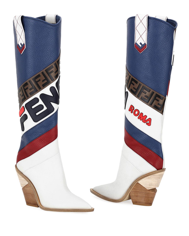 Fendi Western Boots