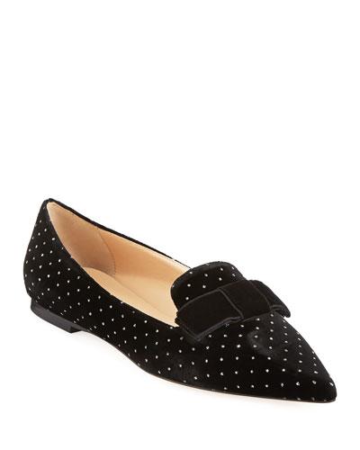 Gala Flat Embellished Loafers