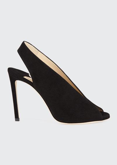 Shar Suede Slingback Sandals