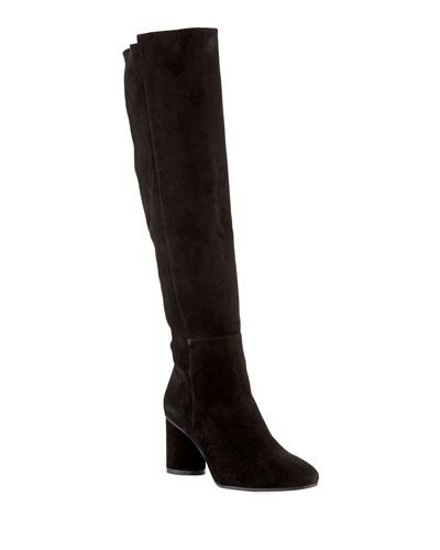 fe333041bc6 Eloise 75mm Suede Knee Boots Quick Look. Stuart Weitzman