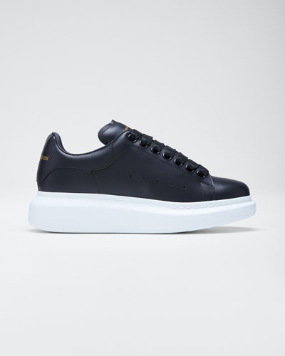Pelle Lace-Up Sneakers