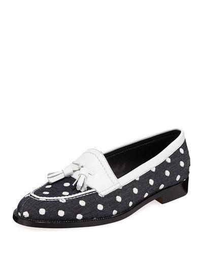 Aldenabi Wool Tassel Loafers