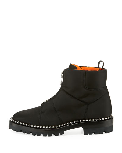 Alexander Wang Cooper Lace-Up Booties