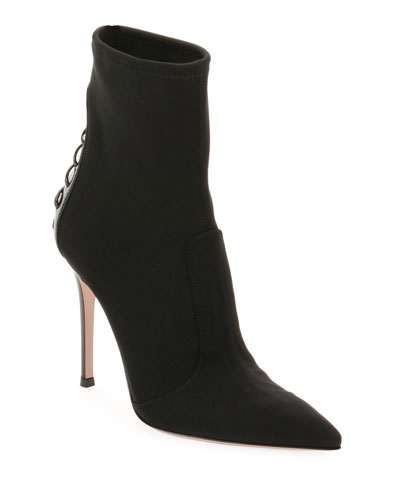 Back-Laced 105mm Booties