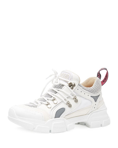6005028df Lace-Up Sneakers, White Quick Look. Gucci
