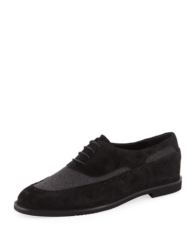 Lace-Up Two-Tone Drivers