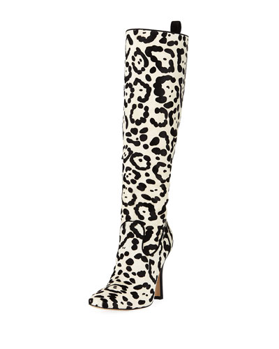 Procopio Over-The-Knee Fur Boots