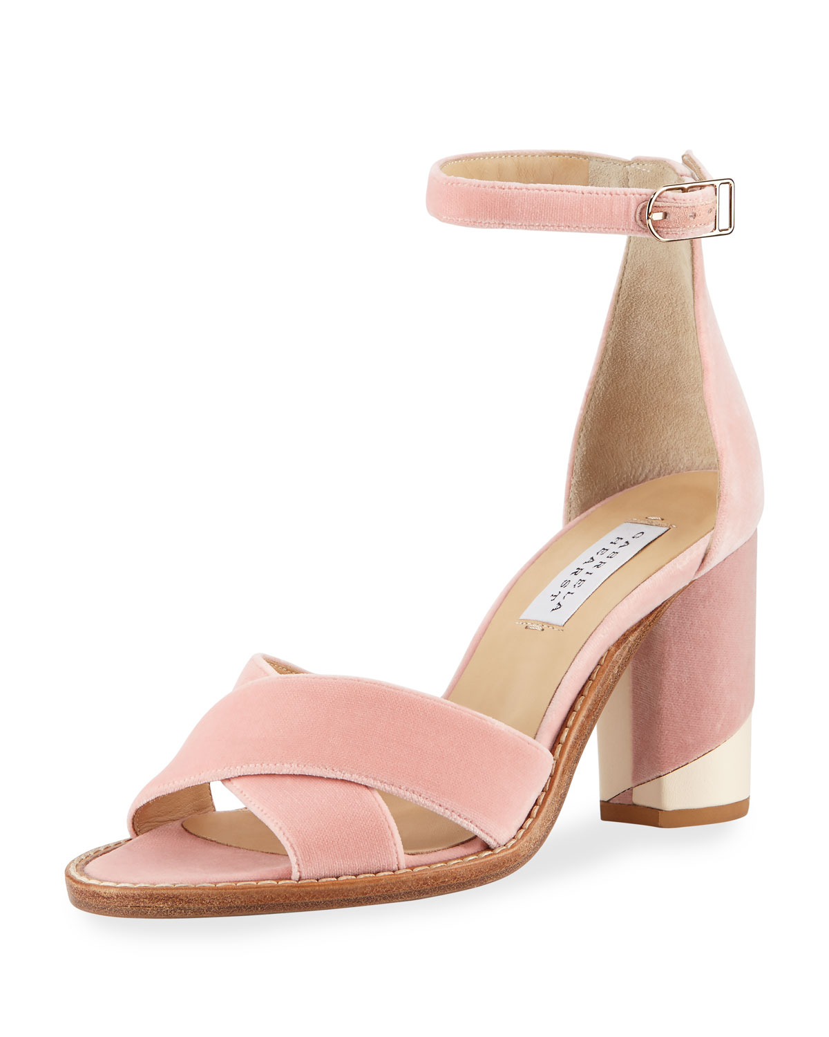 GABRIELA HEARST John velvet sandals Clearance Shop For Free Shipping Official Site SZizwN