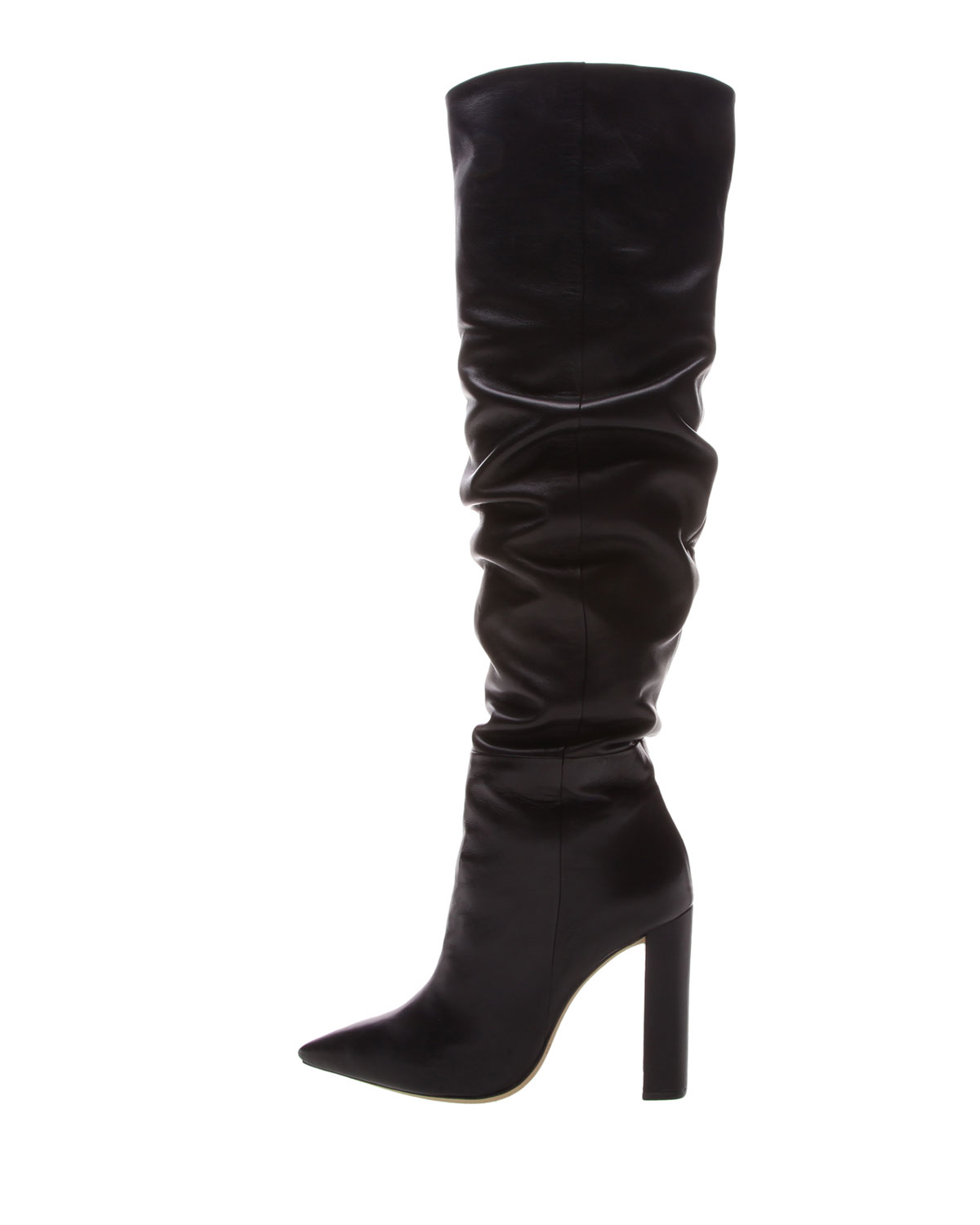 ALEXANDRE BIRMAN ANNA SLOUCHY OVER-THE-KNEE BOOTS