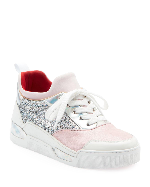 Aurelien Women'S Multimedia Low-Top Sneakers, Multi Pattern