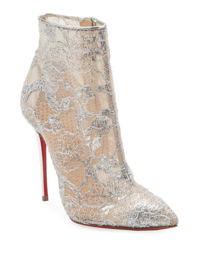 4f05dac88c61 Gipsybootie Metallic Lace Red Sole Ankle Boot Quick Look. Christian  Louboutin