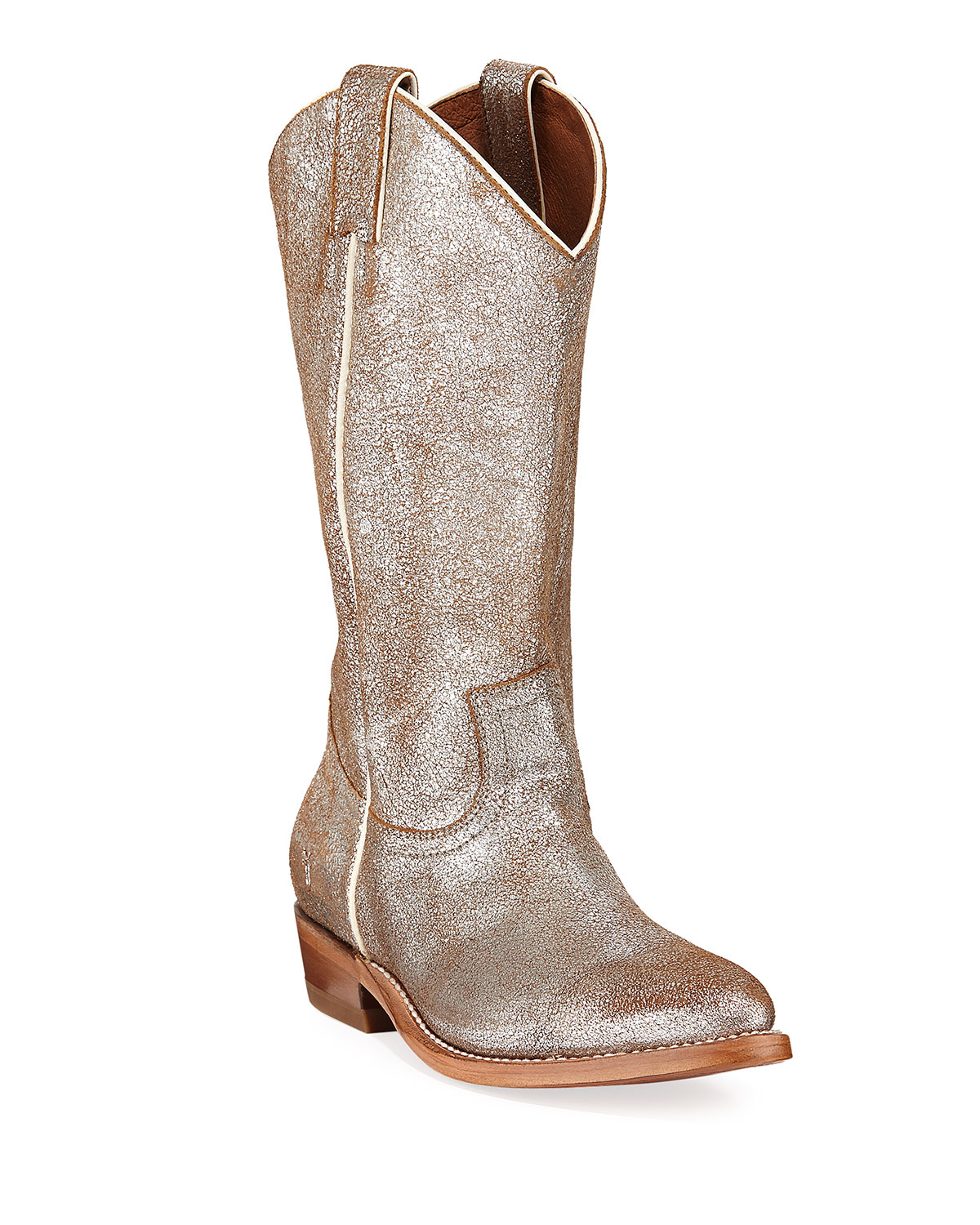 Billy Metallic Western Boots