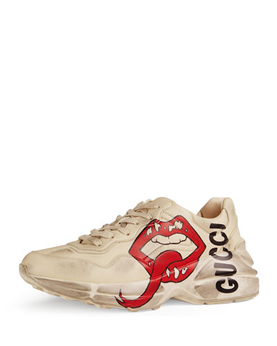 Rhyton Open-Lip Sneakers