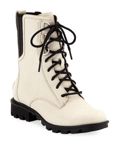 Phoenix Waterproof Nubuck Combat Boots