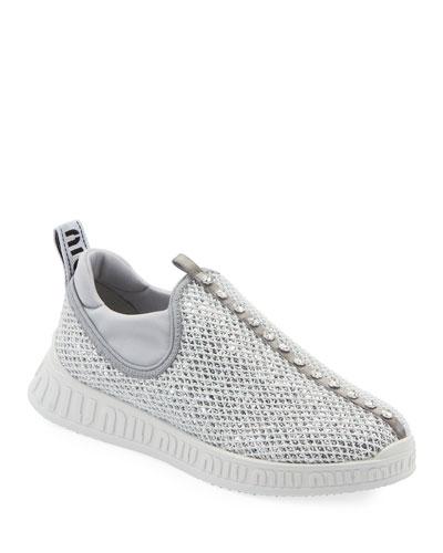Run Glitter Trainer Sneakers