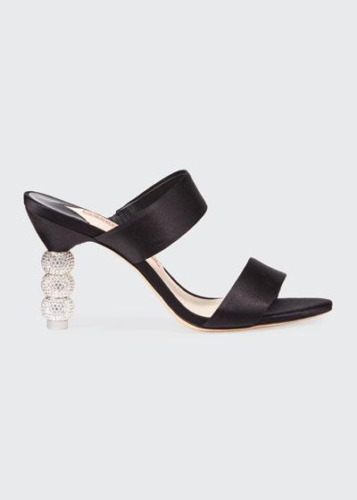 Rosalind Crystal Slide Mules