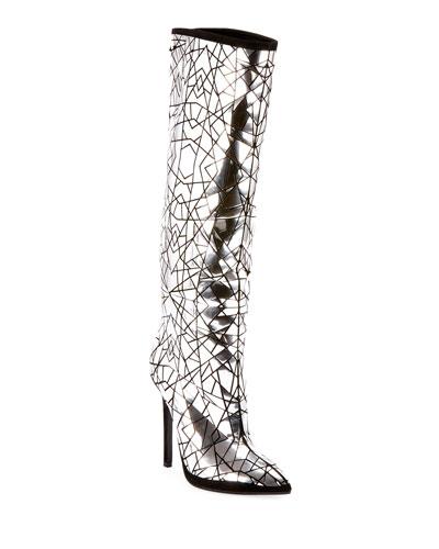 Joris Mirror Over-The-Knee Boots