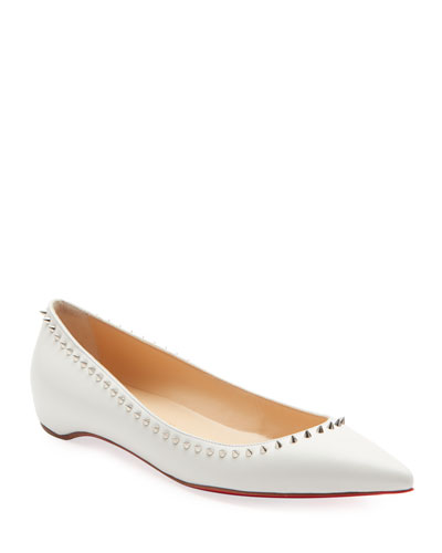 0272f664a89a Anjalina Studded Red Sole Ballet Flats Quick Look. Christian Louboutin
