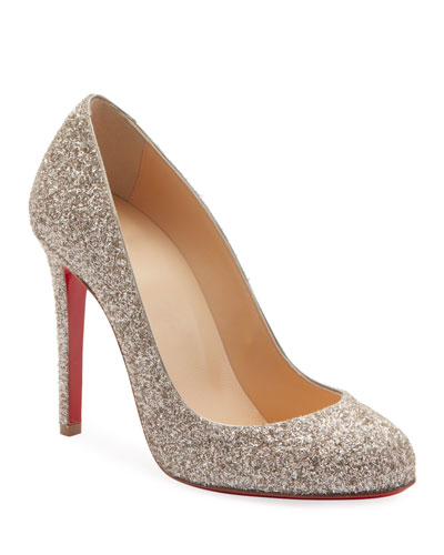 e369683f7a7f Fifille Glitter 100mm Pumps Quick Look. Christian Louboutin