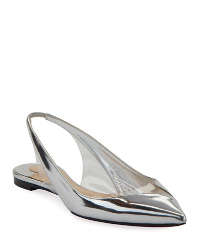 52dac5ce4fe V Dec Specchio Red Sole Ballet Flats Quick Look. Christian Louboutin